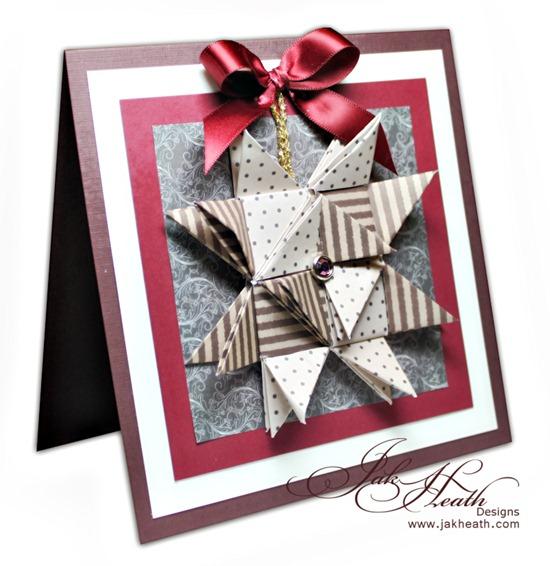 origami,Vivi Gade card2