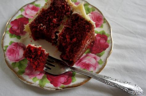 Eaten Red Velvet Cake