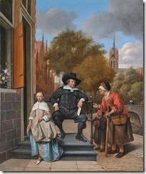 503px-Jan_Steen_-_Adolf_en_Catharina_Croeser_aan_de_Oude_Delft_1655
