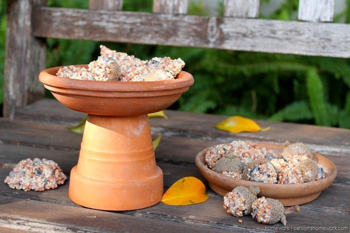 Birdseed Acorn Cakes via homework - carolynshomework (8)
