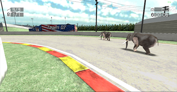 Animal Racing : Elephant - screenshot