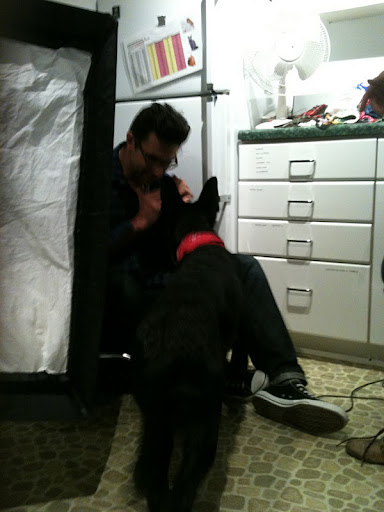 Crew member Joe Toto takes a special liking to Onyx...