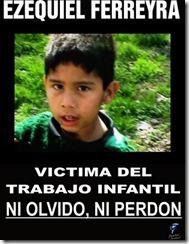 Ezequiel Ferreira - Trabajo infantil - explotacion