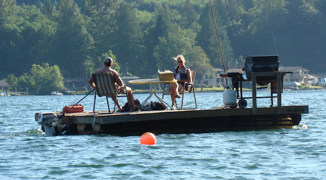 August 2010 - 2nd Place / Dock Boat on Lake Samish / Credit: Kent Powell