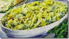 Pappardelle con gorgonzola e spinaci