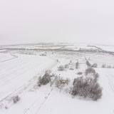 Quadcopter Snow