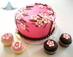 Cherry Blossoms, Babyshower Cake & Cupcakes 151
