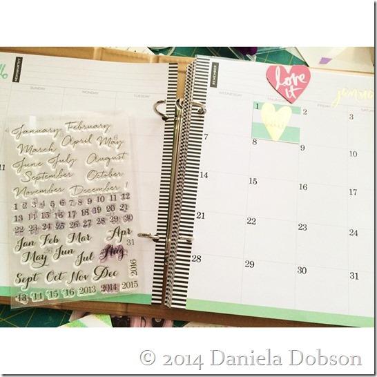 HS 2015 planner by Daniela Dobson