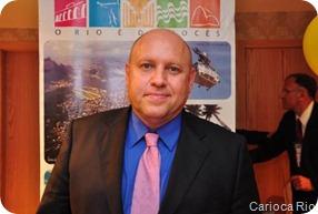 Ricardo Kawa, gerente Geral do Windsor Atlantica Hotel
