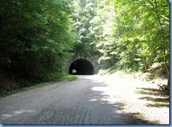 0436 North Carolina - Lakeview Drive - 'The Road to Nowhere' - Smoky Mountain National Park - tunnel at end of road