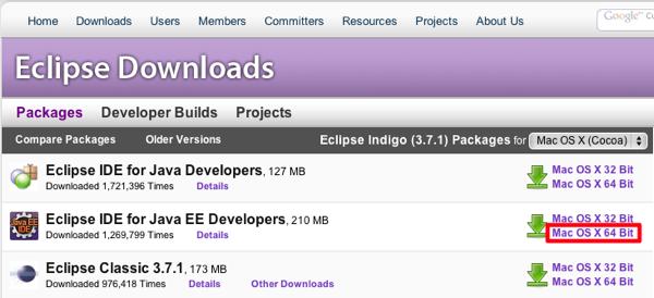 Mac eclipse downloads