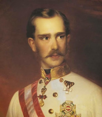 F.Jchrotzberc, L'Imperatore Francesco Giuseppe, 1856
