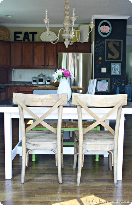 x-back dining chairs