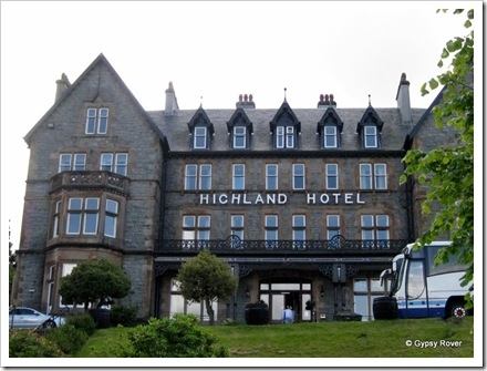 Our old hotel in 1995. Fort William.