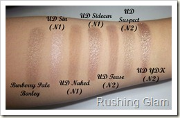 Burberry Pale Barley possible dupes - Copy