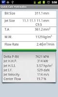 Screenshot of Quick Calc Hydraulics