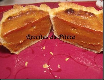 Pastél de caramelo-interior