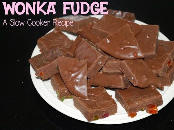 WONKA Fudge {Slow Cooker Recipe}