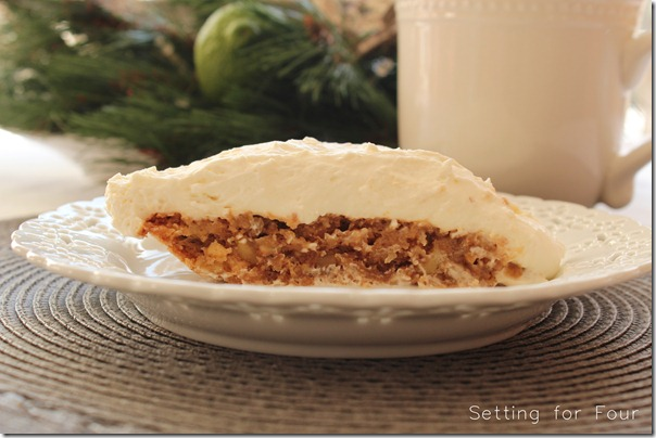 Walnut Torte with Maple Cream Recipe from Setting for Four #recipe #ebook #free #maple #cream #torte #walnut #ritz #cracker