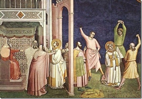 Stoning of Stephen detail