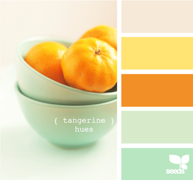 Yellow And Orange Kitchen: Then Kisses Will Happen