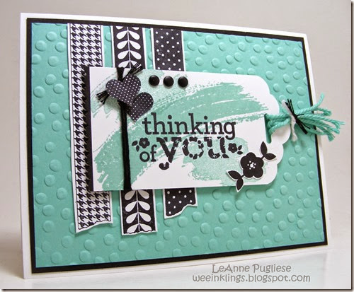 LeAnne Pugliese WeeInklings FMS139 CM23 Kind & Cozy Stampin Up