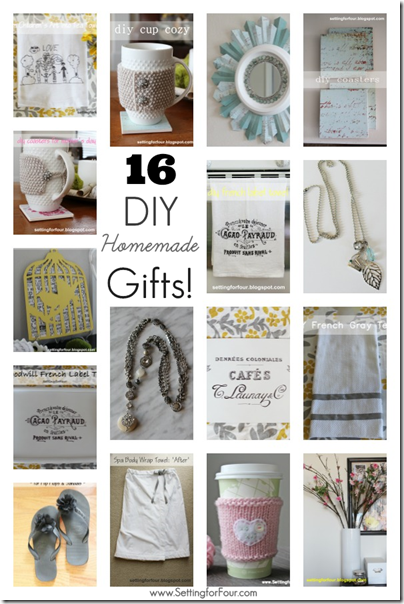 16 DIY Homemade Gifts to Make