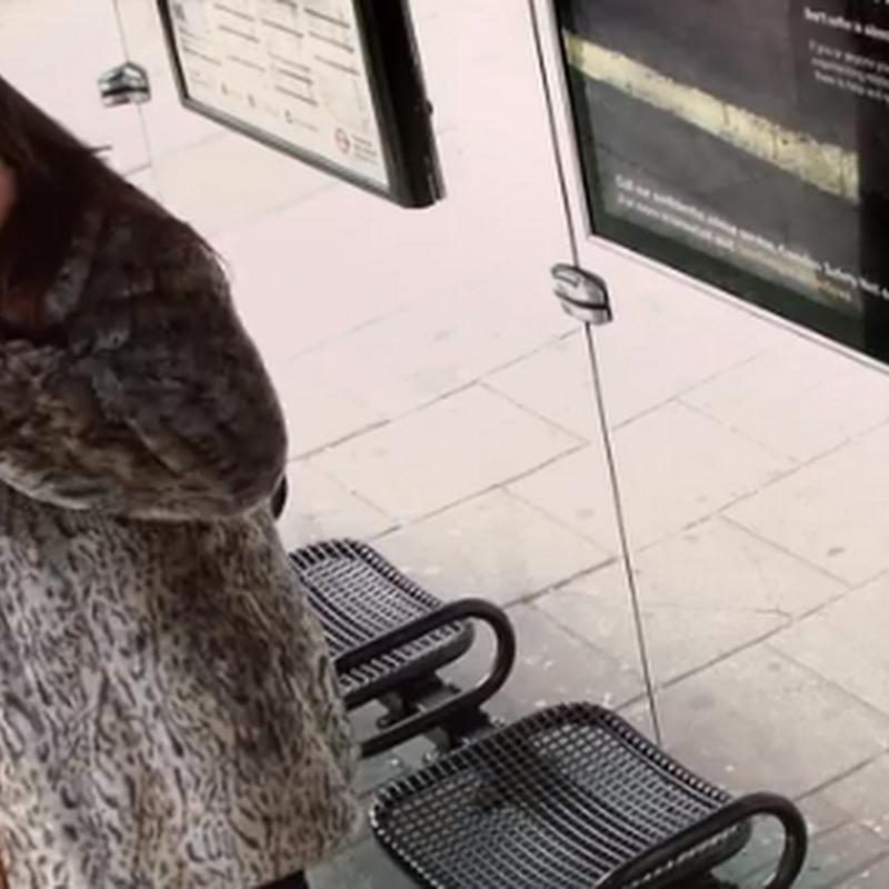 Pepsi sorprende en parada de autobús