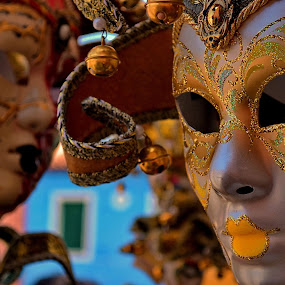 The Mask by Abhinav Ganorkar - Artistic Objects Other Objects ( venice carnival italia carnevale venezia, venice, masks, mask, crafts,  )