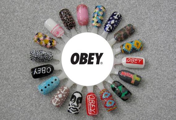 OBEY NAIL WHEEL
