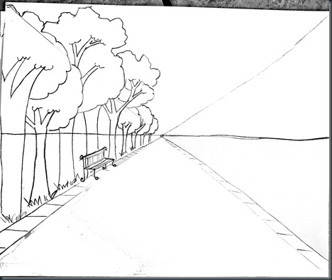 Drawing Trains furthermore 2012 02 12 archive also Place For Misc furthermore Perspective moreover Two Point Perspective. on 2 point perspective drawing a room