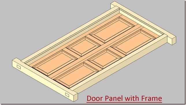 Door Panel with Frame_1