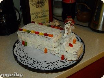 Shokoladnij tort Krem karamelj