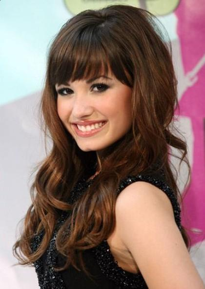 hairstyles with bangs for women