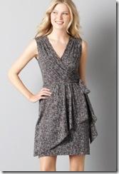 ann taylor loft print dress