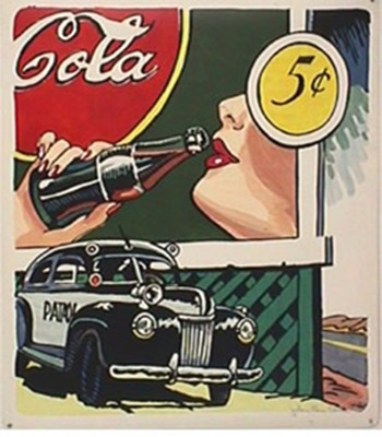 roy-lichtenstein coca cola