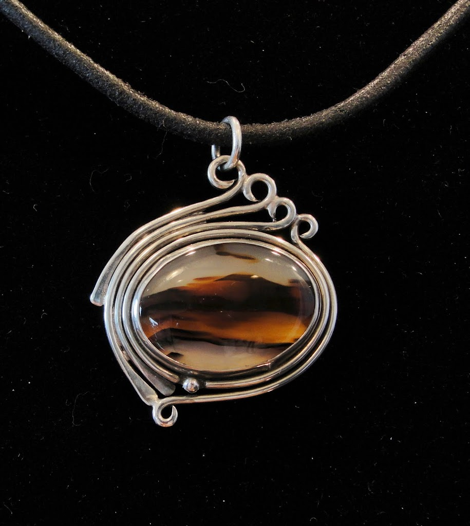 Montana Agate....Sold