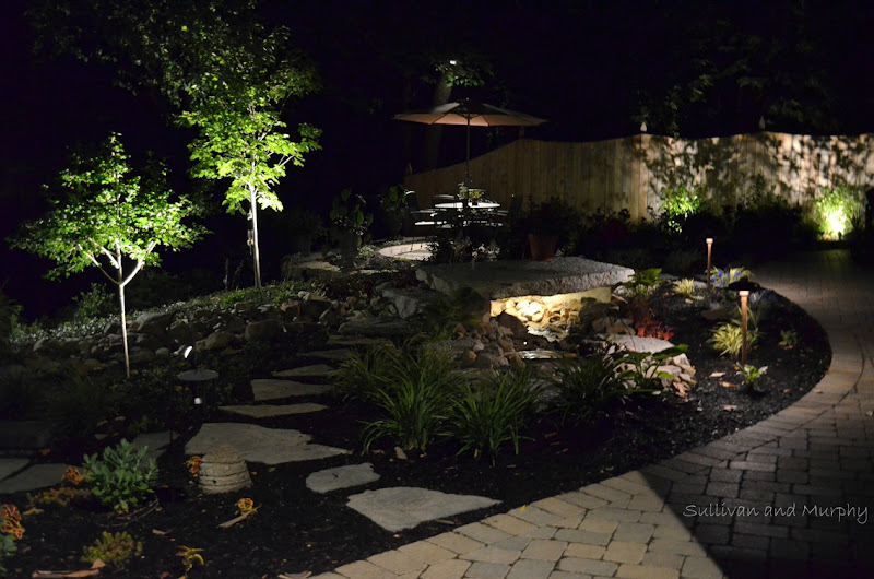 lighted bridge and small dining patio wm