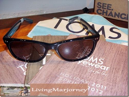 TOMS Eyewear line