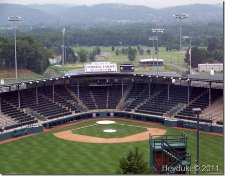 2011-08-05 Williamsport PA Little League Field