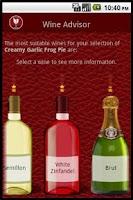 Screenshot of Wino the Wine Advisor Pro