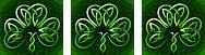 Tripple Celtic shamrock sm