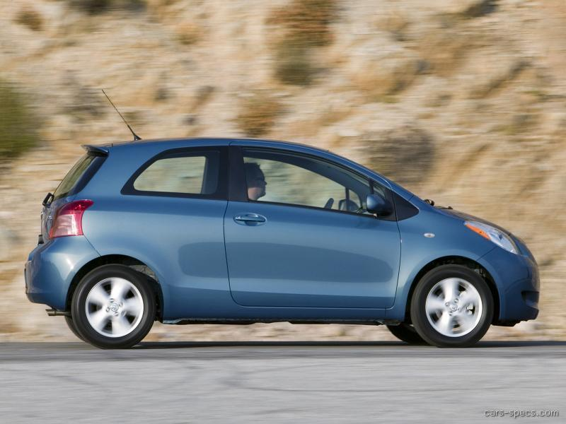 2007 Toyota Yaris Hatchback Specifications Pictures Prices