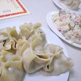 ボーズはモンゴル料理に欠かせない。客をもてなす気持ちを表す。