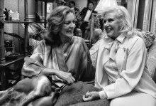 Ginger Rogers and Lauren Bacall
