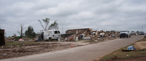 Tornado Damage Moore