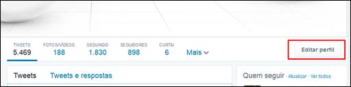 Novo visual Twitter - Visual Dicas