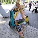 cosplay at comiket at tokyo big sight in Tokyo, Tokyo, Japan