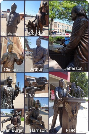 Rapid City Walk of Presidents2