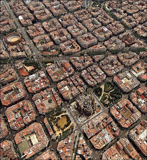 تصميم برشلونة المعماري
